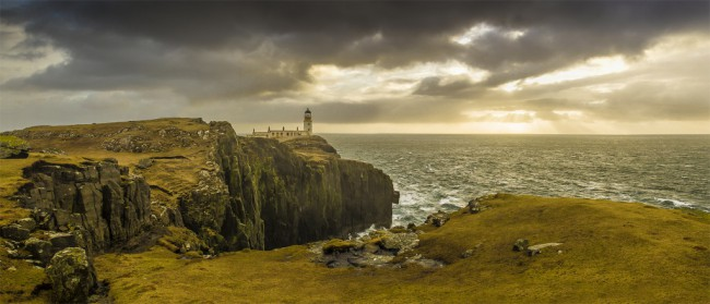 Neist Point Lighthouse - Skotsko